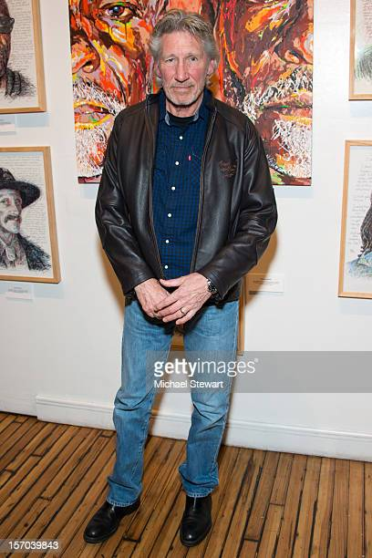 Musician Roger Waters attends the 10th Anniversary production of 'The Exonerated' at Culture Project on November 27 2012 in New York City