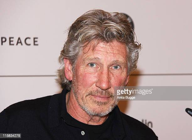 """Musician Roger Waters attends the """"Cinema for Peace Berlin 2009"""" photocall during the 59th Berlin International Film Festival at the Adlon on..."""