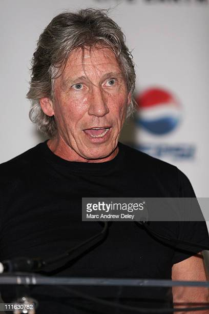 Musician Roger Waters poses in the press room at the Live Earth New York Concert held at Giants Stadium on July 7, 2007 in East Rutherford, New Jersey