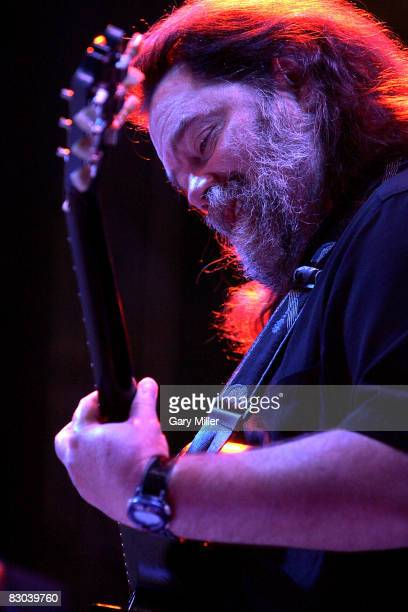 Musician Roky Erickson formerly of The 13th Floor Elevators performs at the Austin City Limits Music Festival in Zilker Park on September 27 2008 in...