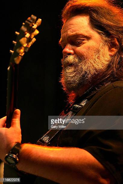 Musician Roky Erickson performs at the Austin City Limits Music Festival in Zilker Park on September 27 2008 in Austin Texas