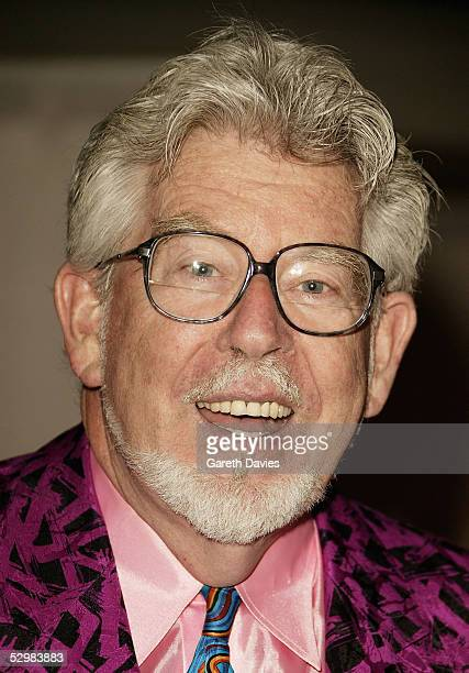 Musician Rolf Harris arrives at the 50th Ivor Novello Awards at Grosvenor House on May 26 2005 in London The music awards honour songwriters...