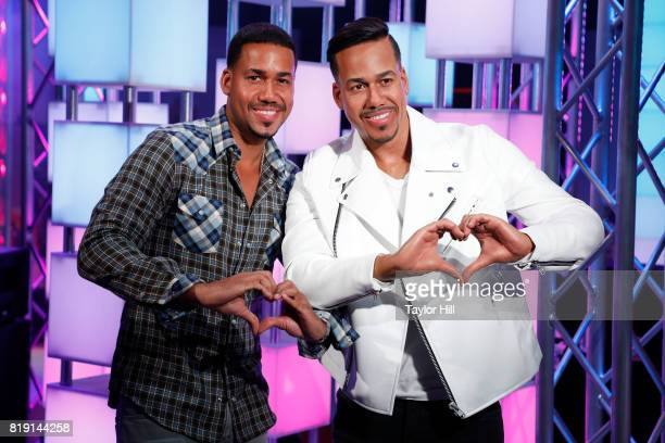 Musician Romeo Santos attends the unveiling of his wax figure at Madame Tussaud's Wax Museum on July 19 2017 in Times Square in New York City