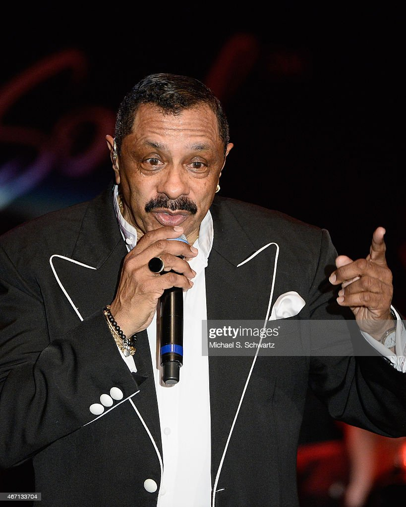 Musician Ron Tyson performs during The Temptations appearance at The Canyon Club on March 20, 2015 in Agoura Hills, California.