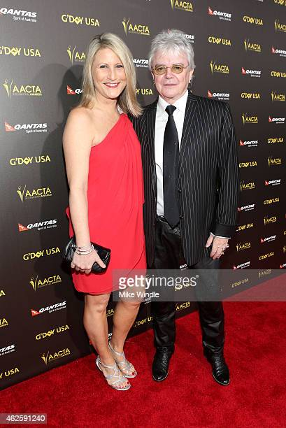 Musician Russell Hitchcock of the band Air Supply and Laurie Hitchcock attend the 2015 G'Day USA GALA featuring the AACTA International Awards...