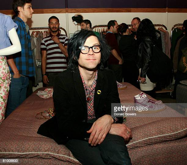 Musician Ryan Adams attends the party for the launch of Liberty Dunk sneakers at Opening Ceremony May 6 2008 in New York City