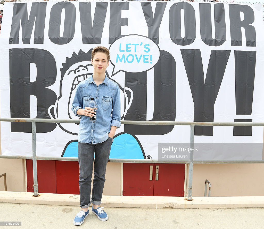 Musician Ryan Beatty attends the Michelle Obama And WAT-AAH! Foundation Move Your Body 2013 at Hollywood High School on May 1, 2013 in Los Angeles, California.