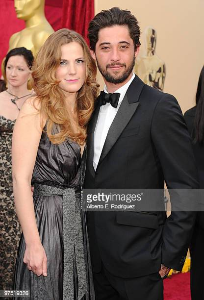 Musician Ryan Bingham and his wife Anna Axster arrives at the 82nd Annual Academy Awards held at Kodak Theatre on March 7 2010 in Hollywood California