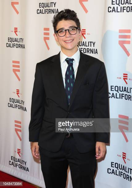 Musician Ryan Cassata attends the LA Equality Awards hosted by Equality California at JW Marriot at LA Live on September 29 2018 in Los Angeles...