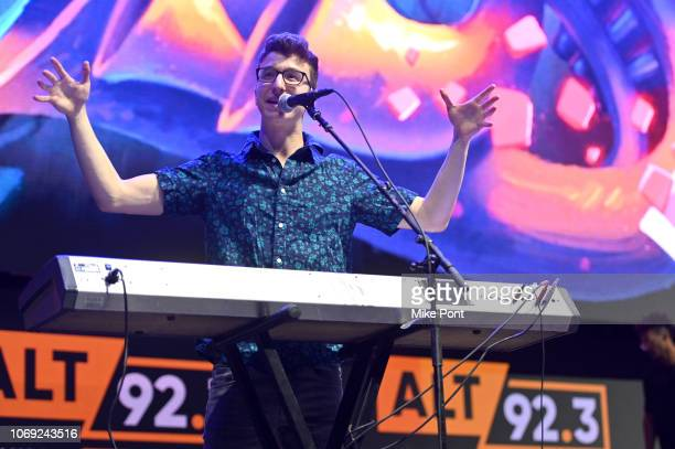 Musician Ryan Met of AJR performs onstage at Not So Silent Night presented by Radiocom at Barclays Center on December 6 2018 in New York City