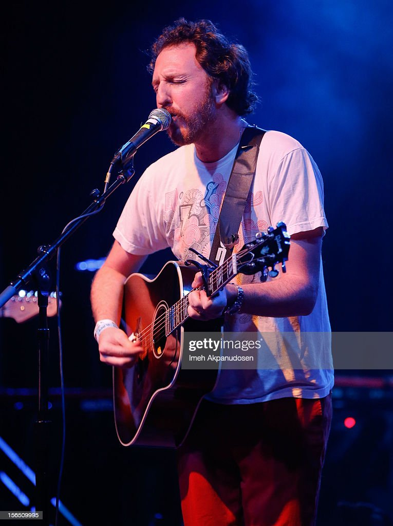 Musician Ryan Miller performs onstage singing 'Wildflowers' at the first ever Jameson Petty Fest West at El Rey Theatre on November 15, 2012 in Los Angeles, California.