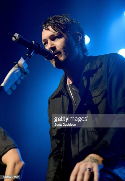 Musician Ryan Shuck of the band's Julien K Orgy and Dead by Sunrise performs onstage during the second annual Rock to Recovery benefit concert at The...