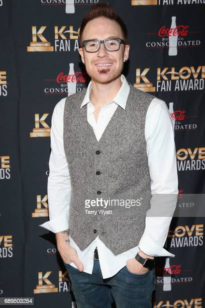 Musician Ryan Stevenson arrives at the 5th Annual KLOVE Fan Awards at The Grand Ole Opry on May 28 2017 in Nashville Tennessee
