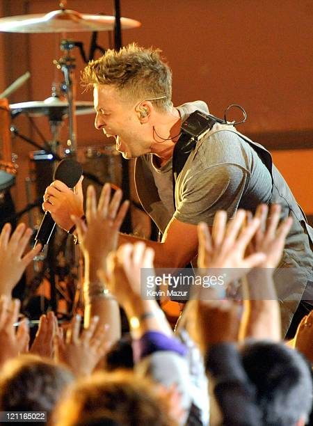 Musician Ryan Tedder of OneRepublic performs onstage during the 2011 VH1 Do Something Awards at the Hollywood Palladium on August 14 2011 in...