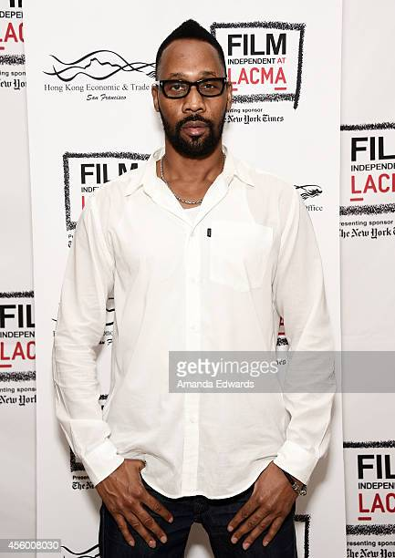 Musician RZA attends the Film Independent at LACMA screening and QA of 'The 36th Chamber Of Shaolin' at the Bing Theatre At LACMA on September 23...