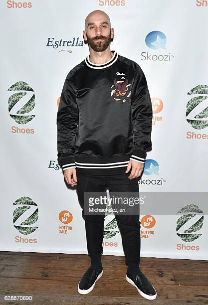 Musician Sam Harris of X Ambassadors arrives at Not For Sale x Z Shoes Benefit at Estrella Sunset on December 9, 2016 in West Hollywood, California.