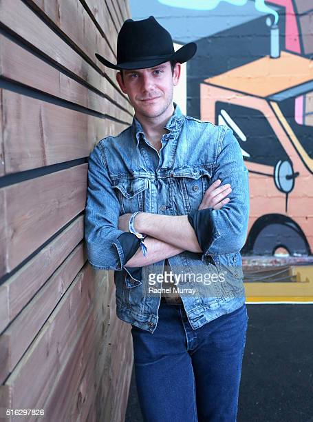 Musician Sam Outlaw attends the PANDORA Discovery Den SXSW on March 17 2016 in Austin Texas