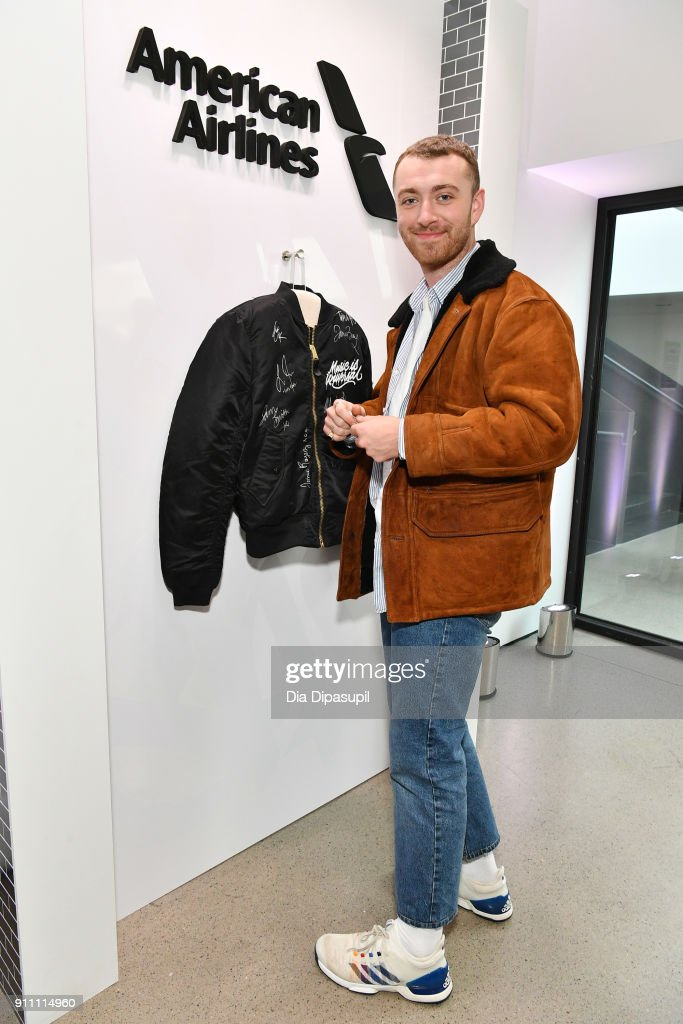 Musician Sam Smith attends Sir Lucian Grainge's 2018 Artist Showcase presented by Citi with support from Remy Martin on January 27, 2018 in New York City.