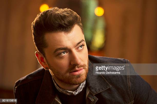 Musician Sam Smith is photographed for Los Angeles Times on November 5 2015 in Los Angeles California PUBLISHED IMAGE CREDIT MUST READ Ricardo...