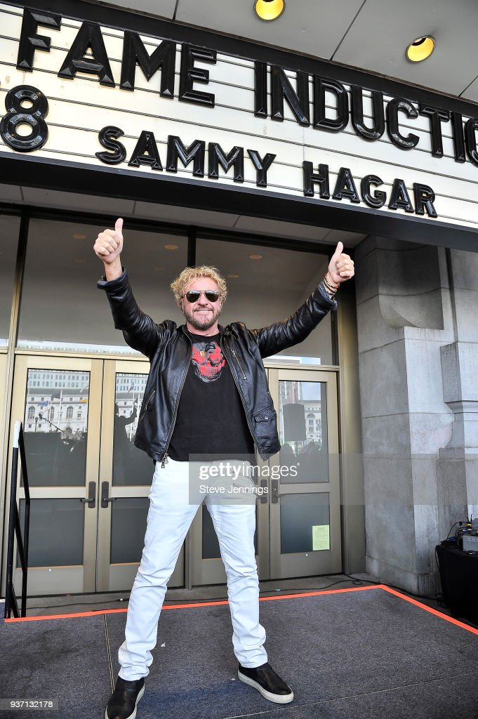 "Musician Sammy Hagar And DJ Steven Seaweed Get Inducted Into The 2018 ""Bammies Walk Of Fame"""