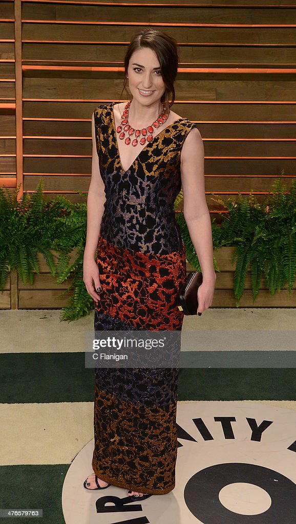 Musician Sara Bareilles arrives at the 2014 Vanity Fair Oscar Party Hosted By Graydon Carter on March 2, 2014 in West Hollywood, California.