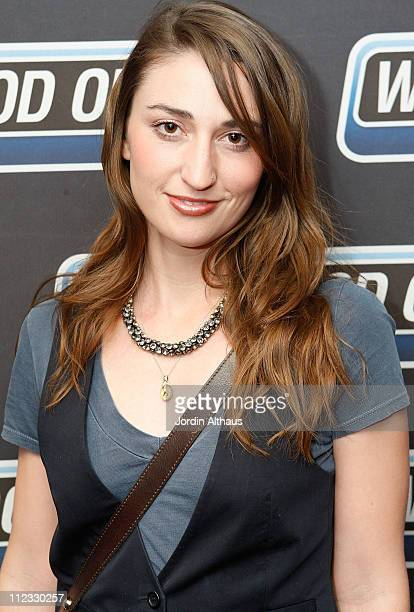 Musician Sara Bareilles attends the 51st Annual GRAMMY Awards Westwood One Radio Remotes Day 1 held at the Staples Center on February 5 2009 in Los...