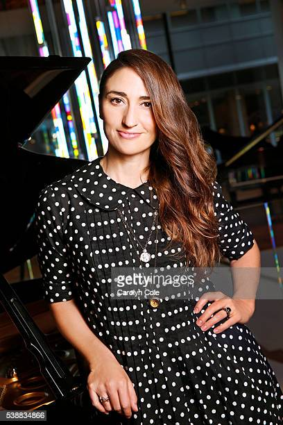 Musician Sara Bareilles is photographed for Los Angeles Times on May 26 2016 in New York City PUBLISHED IMAGE CREDIT MUST READ Carolyn Cole/Los...