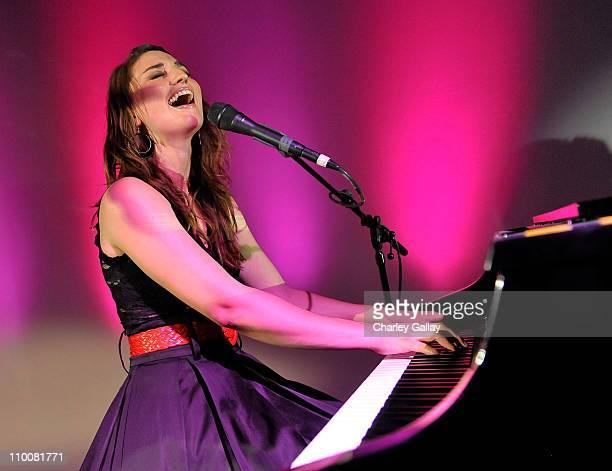 Musician Sarah Borellis performs at Sweet 16 Party at Siren on May 16, 2009 in Los Angeles, California.