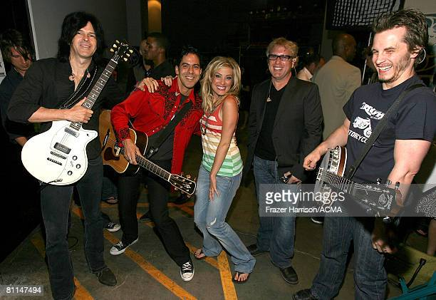 ACCESS*** Musician Sarah Buxton backstage at the 43rd annual Academy Of Country Music Awards held at the MGM Grand Garden Arena on May 18 2008 in Las...