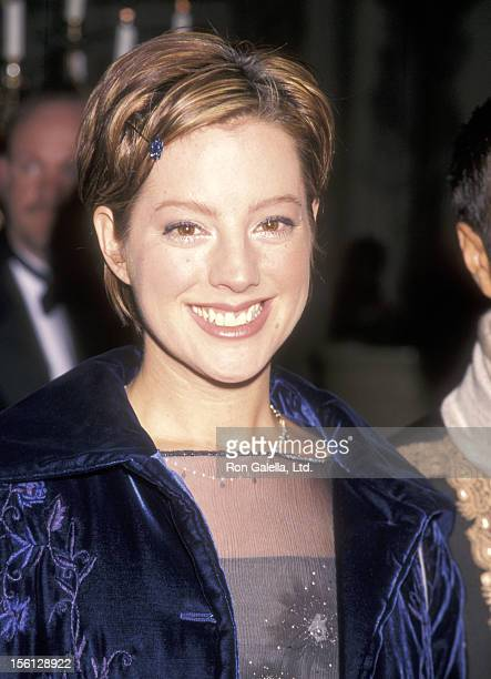 Musician Sarah McLachlan attends the 40th Annual Grammy Awards PreParty Hostedy by Clive Davis on February 24 1998 at Plaza Hotel in New York City...