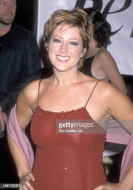 Musician Sarah McLachlan attends the PETA Gala Honoring the Animal Rights Movement on September 18 1999 at Paramount Studios in Hollywood California