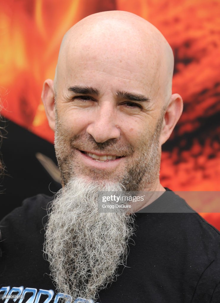 Musician Scott Ian arrives at the premiere of Warner Bros. Pictures' 'The LEGO Ninjago Movie' at Regency Village Theatre on September 16, 2017 in Westwood, California.