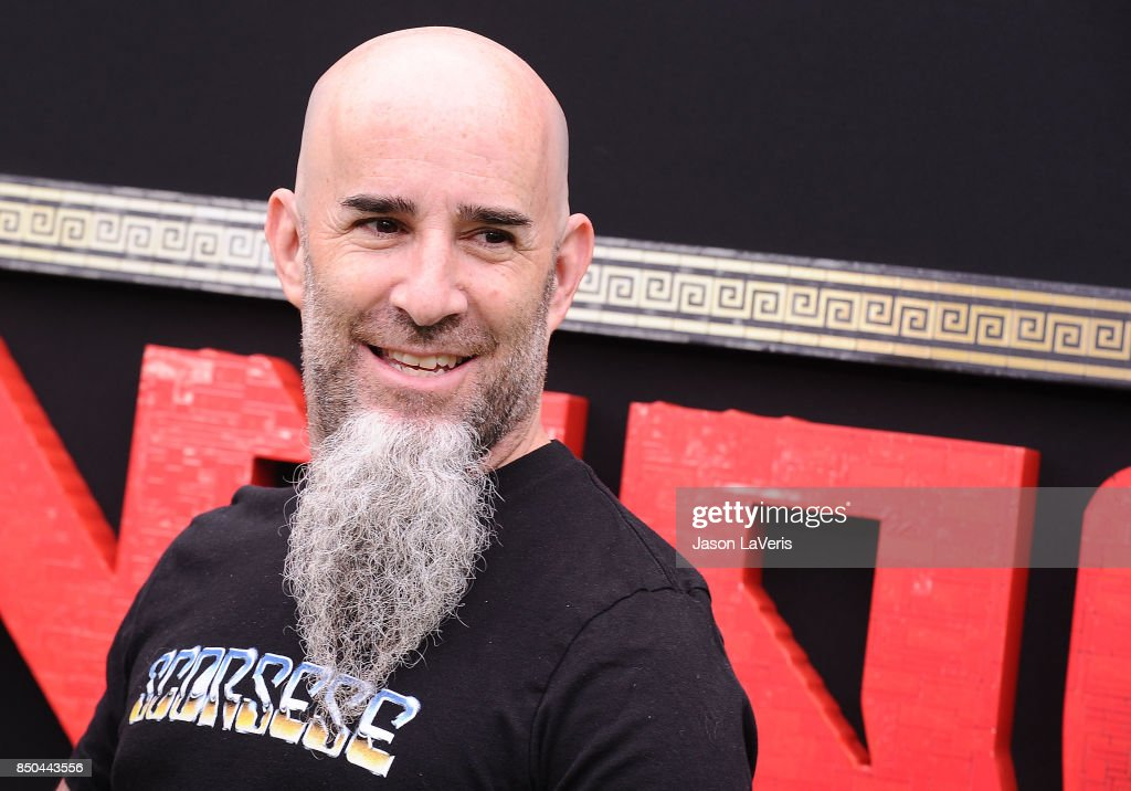Musician Scott Ian of Anthrax attends the premiere of 'The LEGO Ninjago Movie' at Regency Village Theatre on September 16, 2017 in Westwood, California.