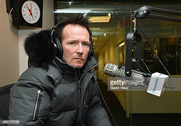 Musician Scott Weiland visits 'Lithium' at SiriusXM Studios on March 9 2015 in New York City