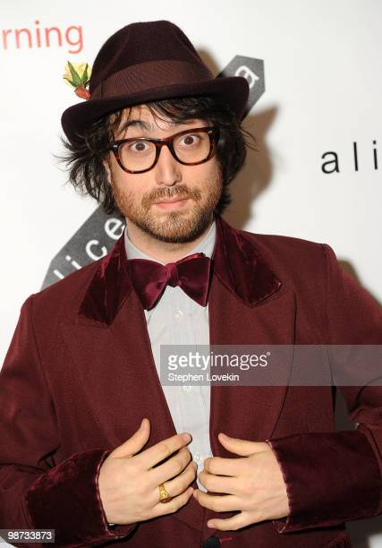 Musician Sean Lennon attends the 2nd Annual Bent on Learning Benefit at The Puck Building on April 28, 2010 in New York City.