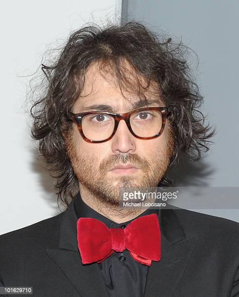 """Musician Sean Lennon attends the premiere of """"Rosencrantz and Guildenstern Are Undead"""" at Village East Cinema on June 4, 2010 in New York City."""