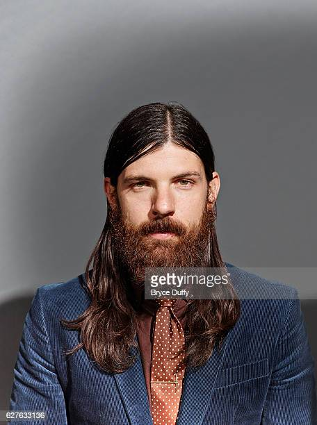 Musician Seth Avett of The Avett Brothers is photographed for Rolling Stone Magazine on October 8 2013 in Los Angeles California