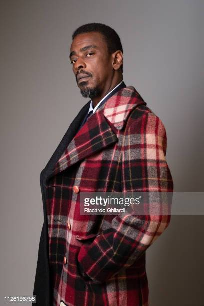 Musician Seu Jorge poses for a portrait during the 69th Berlinale International Film Festival on February 8 2019 in Berlin Germany