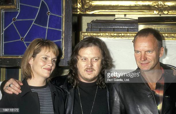 Musician Shawn Colvin Musician Zucchero and Musician Sting attend the Press Conference to Announce the Release of the Album 'Carnival Rainforest...