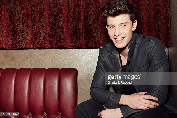 Musician Shawn Mendes is photographed for Billboard Magazine on November 1 2015 in West Hollywood California