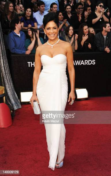 Musician Sheila E arrives at the 84th Annual Academy Awards held at the Hollywood Highland Center on February 26 2012 in Hollywood California