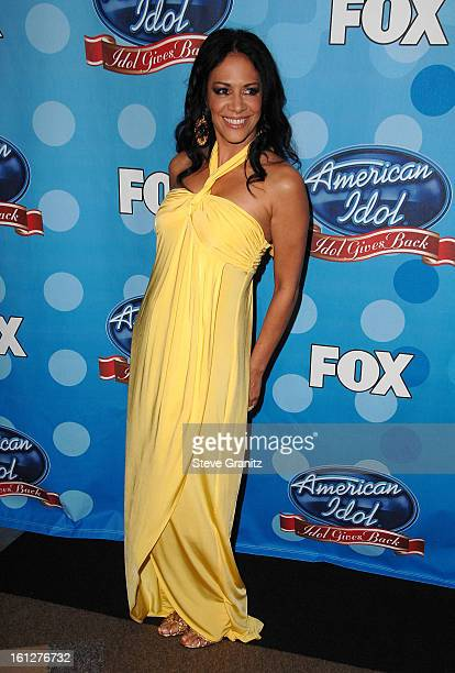 Musician Sheila E arrives at the taping of 'Idol Gives Back' held at the Kodak Theatre on April 6 2008 in Hollywood California 'Idol Gives Back' will...