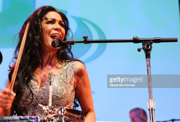 Musician Sheila E attends Global Green USA's 9th Annual PreOscar Party Supporting Green Schools and Green Communities at Avalon on February 22 2012...