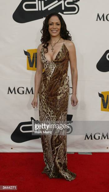 Musician Sheila E attends the 7th Annual VH1 Divas Concert Benefiting The Save The Music Foundation at the MGM Grand Garden Arena April 18 2004 in...