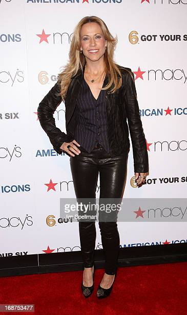 Musician Sheryl Crow attends Macy's American Icons Campaign Launch at Gotham Hall on May 14 2013 in New York City