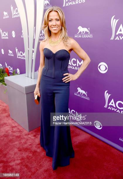 Musician Sheryl Crow attends the 48th Annual Academy of Country Music Awards at the MGM Grand Garden Arena on April 7 2013 in Las Vegas Nevada