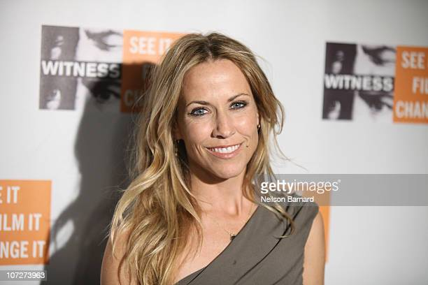 Musician Sheryl Crow attends the 6th Annual Focus For Change Benefit Dinner And Concert at Roseland Ballroom on December 2 2010 in New York City