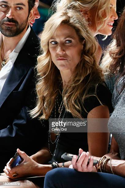 Musician Sheryl Crow attends the Diane Von Furstenberg fashion show during MercedesBenz Fashion Week Spring 2014 at The Theatre at Lincoln Center on...