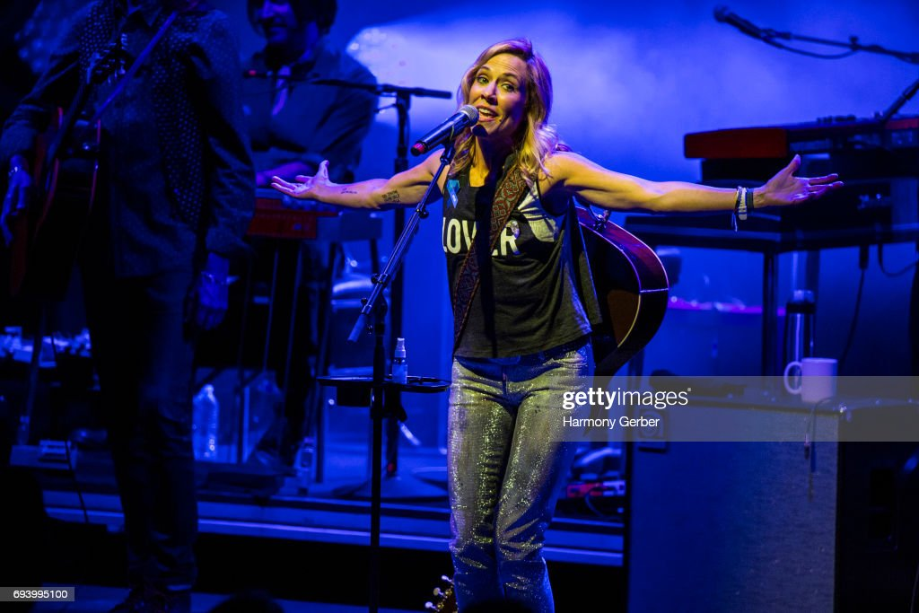 Musician Sheryl Crow performs at The Greek Theatre on June 8