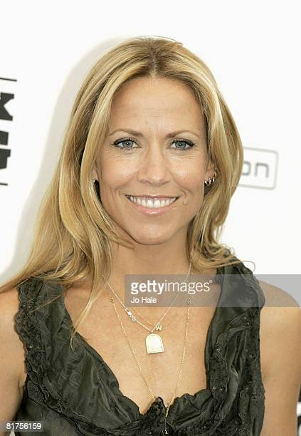 Musician Sheryl Crow poses in the press room at the Hard Rock Calling Festival on June 28 2008 in London England